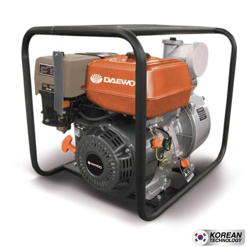 """Motobomba A gasolina 4""""x4"""" GAE100E Partida Manual Agua Limpia Daewoo 7798125044568"""