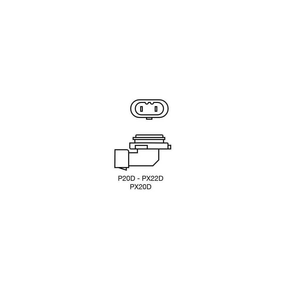 Ampolleta para Automóvil Foco Mayor - Luces bajas/altas 12V 65W 9005 Estándar Bosch 110986AL1531