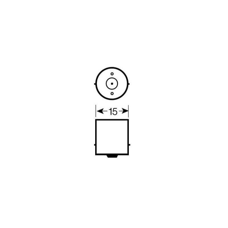 Ampolleta de Señalización para Automóvil 5W R5W Bosch 110986BL0443