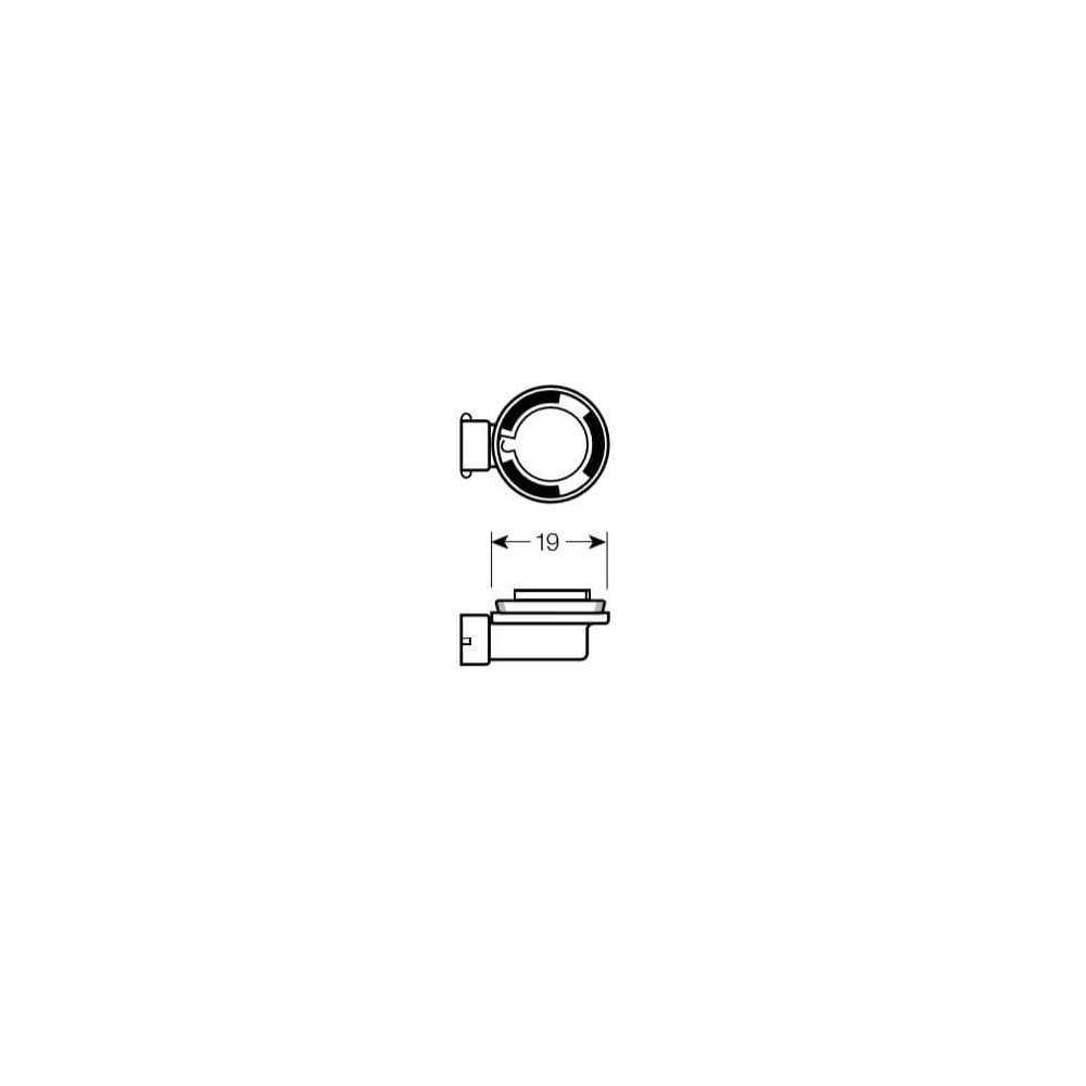 Ampolleta para Automóvil Foco Mayor - Luces Bajas 12V 55W H11 Estándar Osram 5764211