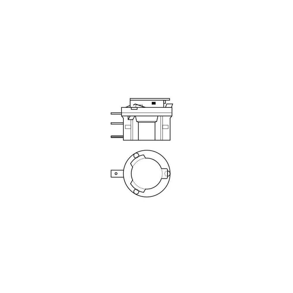 Ampolleta para Automóvil Foco Mayor - Luces bajas/altas 12V 55/15W H15 Estándar Osram 5764176