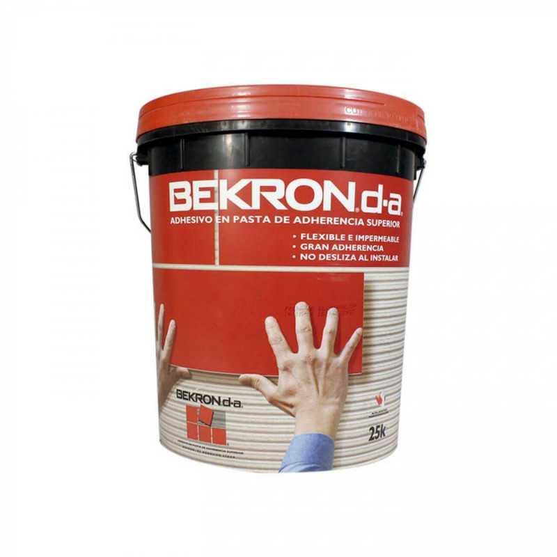 Adhesivo Cerámico en Pasta D.A 25 Kg Bekron ADH-0017