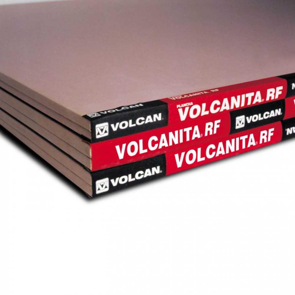 Volcanita RF (Resistente al Fuego) 12.5mm 1.20X2.40mt Volcan VOL-0001-1