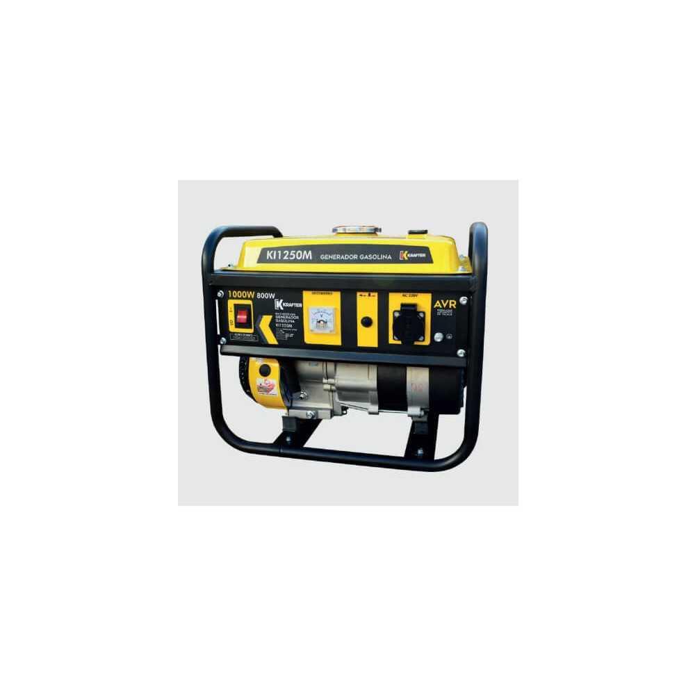 Generador A Gasolina 1 Kw Partida Manual KI1250M Krafter 4471000001250