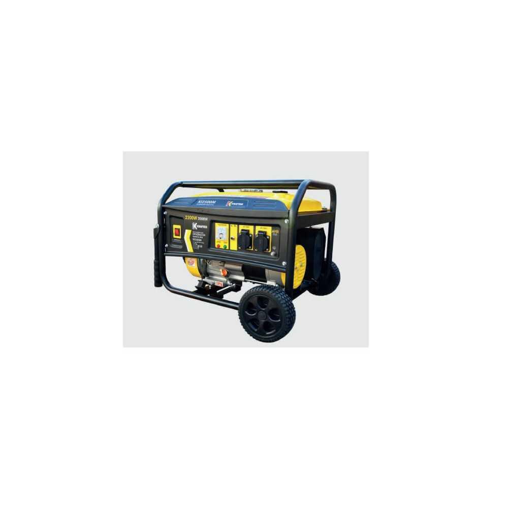 Generador Eléctrico A Gasolina 2,2 Kw Partida Manual KI2500M Krafter 4471000002200