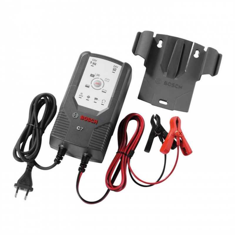 Cargador de Batería 12/24V C7 Bosch 22018999907M