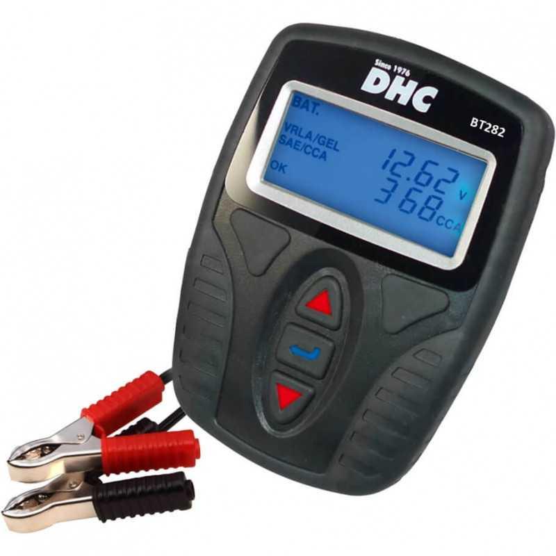 Tester de Batería /Medidor de Resistencia 12V DHC 39DHC-BT282