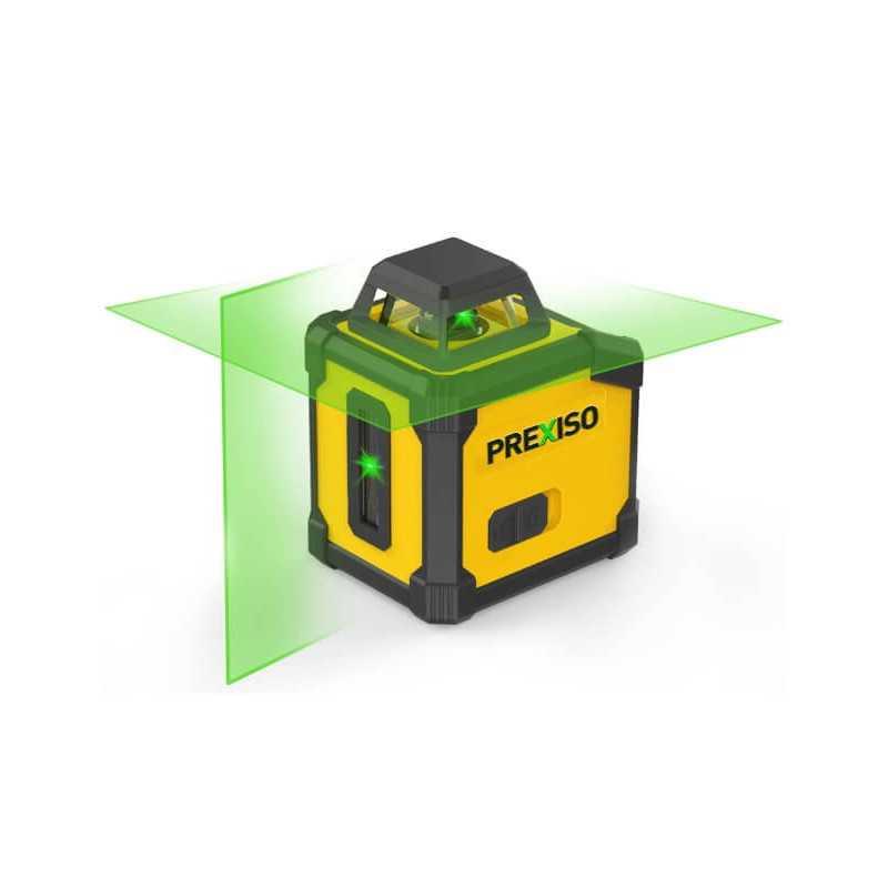 Nivel Láser de Líneas Cruzadas 360° (Láser Verde) Prexiso PLC360G