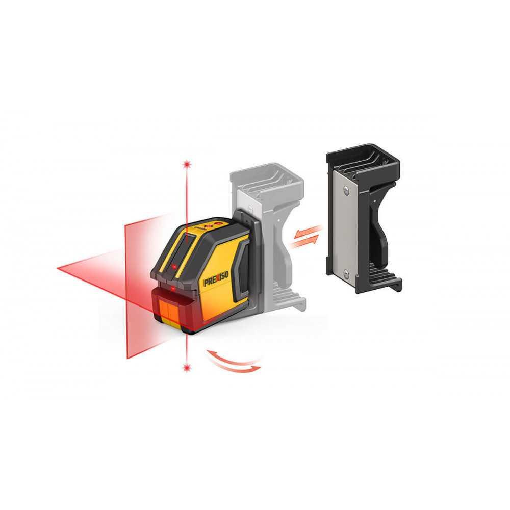 Nivel Láser de Líneas Cruzadas con Puntos de PlomoPrexiso P2LC15
