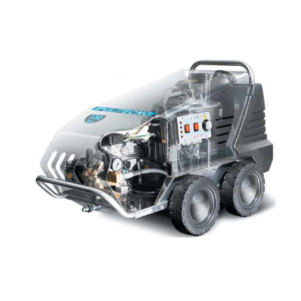 Hidrolavadora Agua fría/caliente HYNOX 130.10 - 2.7 Kw Pulitecno 7023091160020
