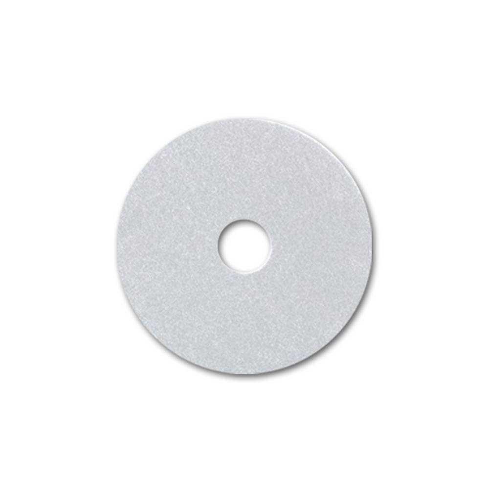 """PAD Blanco 17"""" para brillo de pisos caja 5 unidades Luster 7049016201199"""