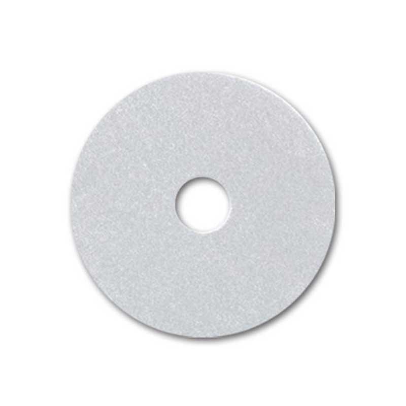 """PAD Blanco 13"""" para brillo de pisos caja 5 unidades Luster 7049016201181"""