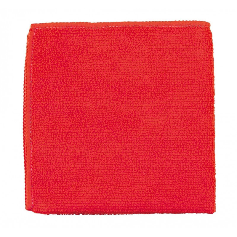 Paño Rojo Microfibra MULTIUSO 40x40 caja 300 Pzs. Emaresa 7044000101817