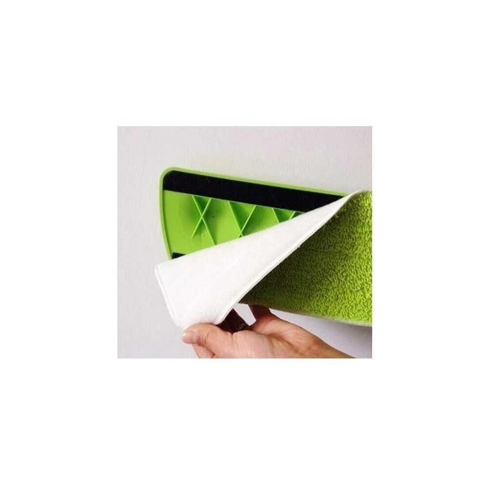 Mopa Microfibra Verde ULT. Velcro 40 cm caja 10 Und. Pongal 7044010111201