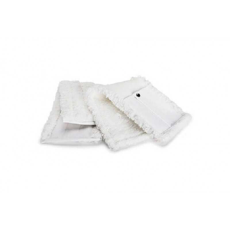 Mopa Microfibra PLUSH Blanca 12x46 cm caja 10 Und. Pongal 7044010111301