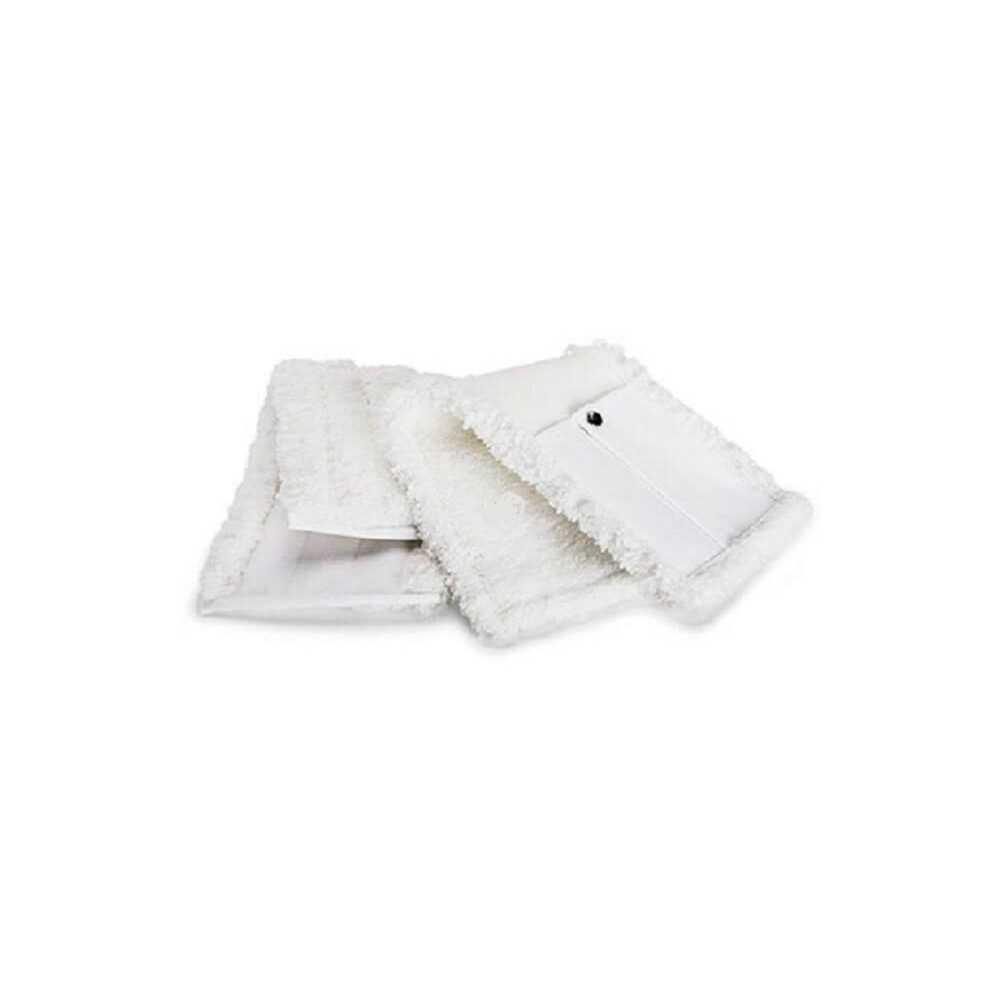 Mopa Microfibra PLUSH Blanca 12x63 cm caja 10 Und. Pongal 7044020111300