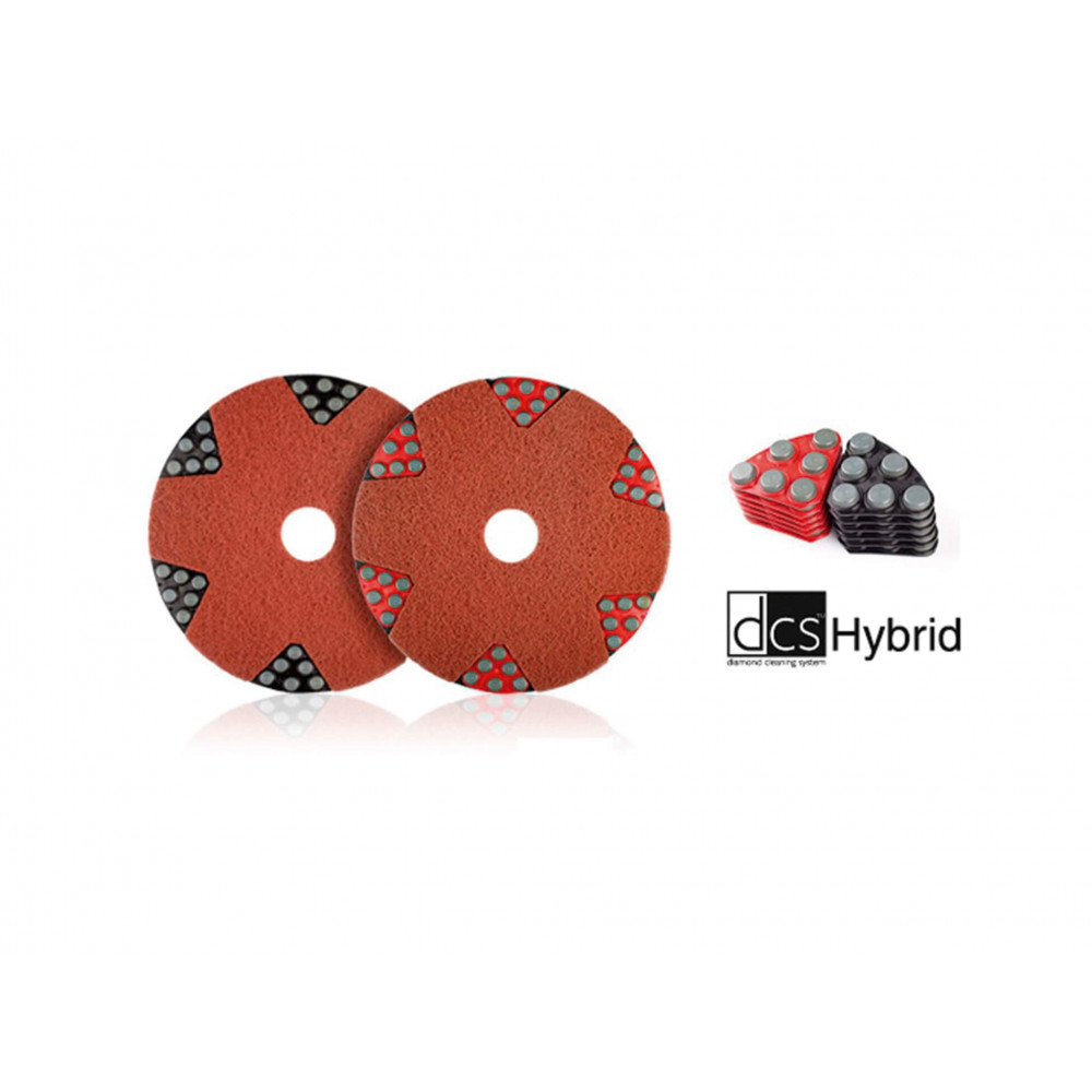 PAD Hybrido Negro 6 Tipo Brillo Segmentos Twister 7045000212367