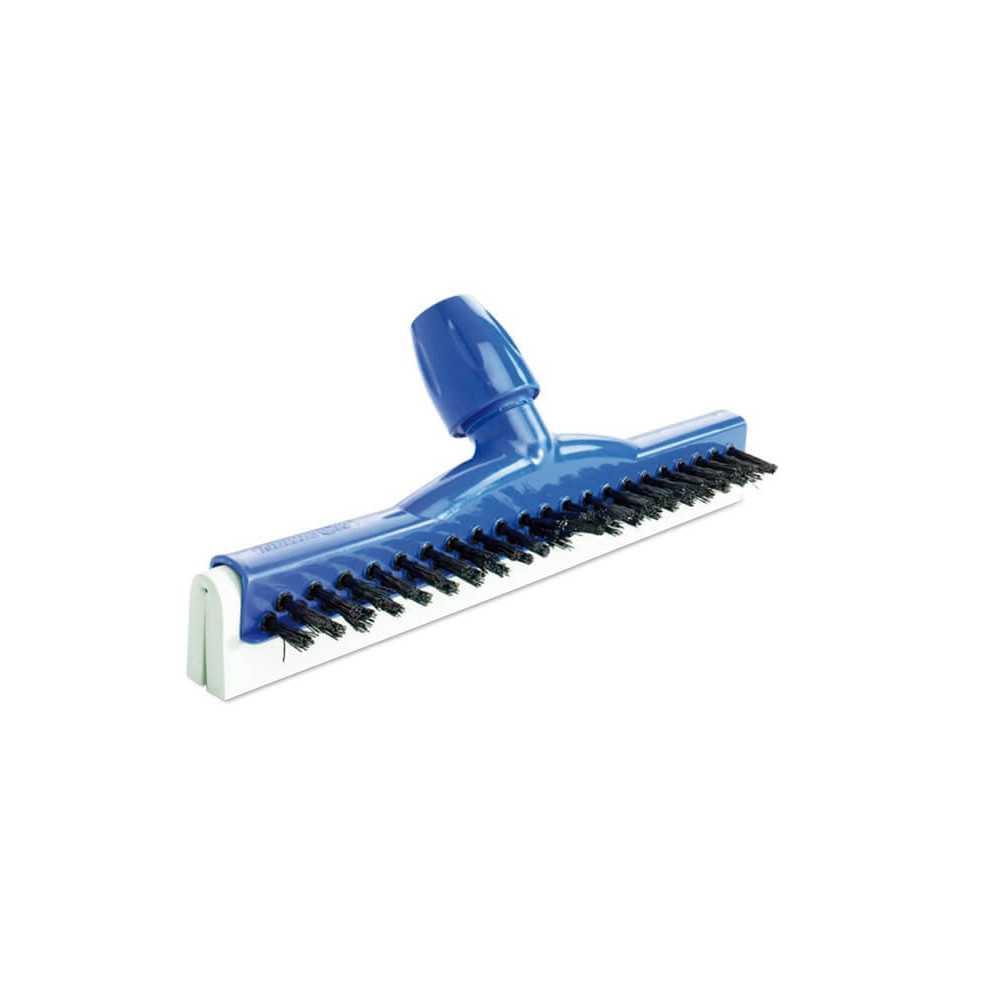 Seca Pisos Escobilla 45 cm Goma Verde Base Azul 10 und Moerman 7041000062452