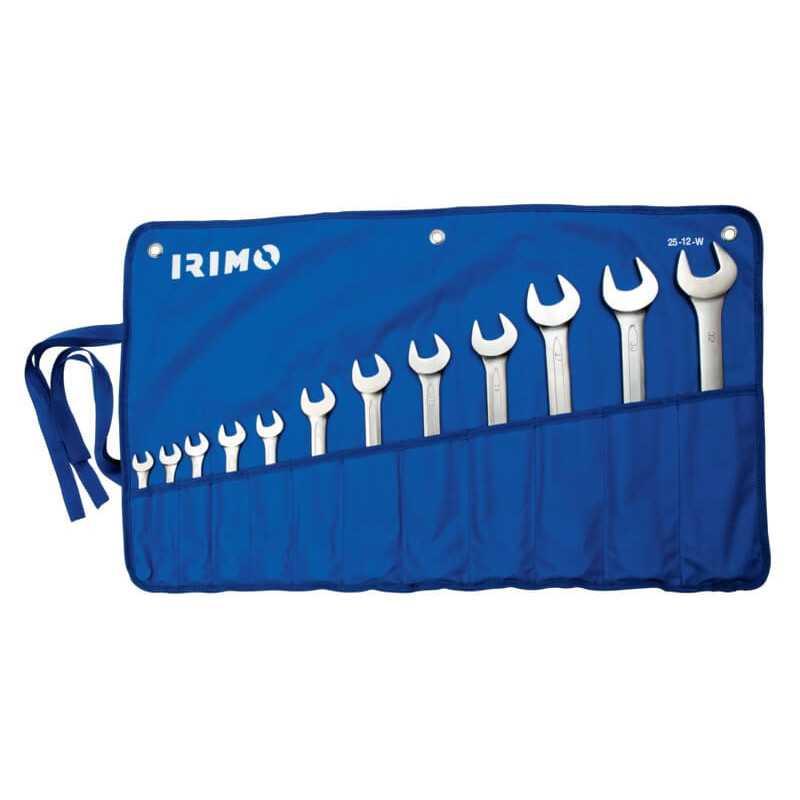 Juego de Llaves combinadas 12 piezas Irimo 25-12-W