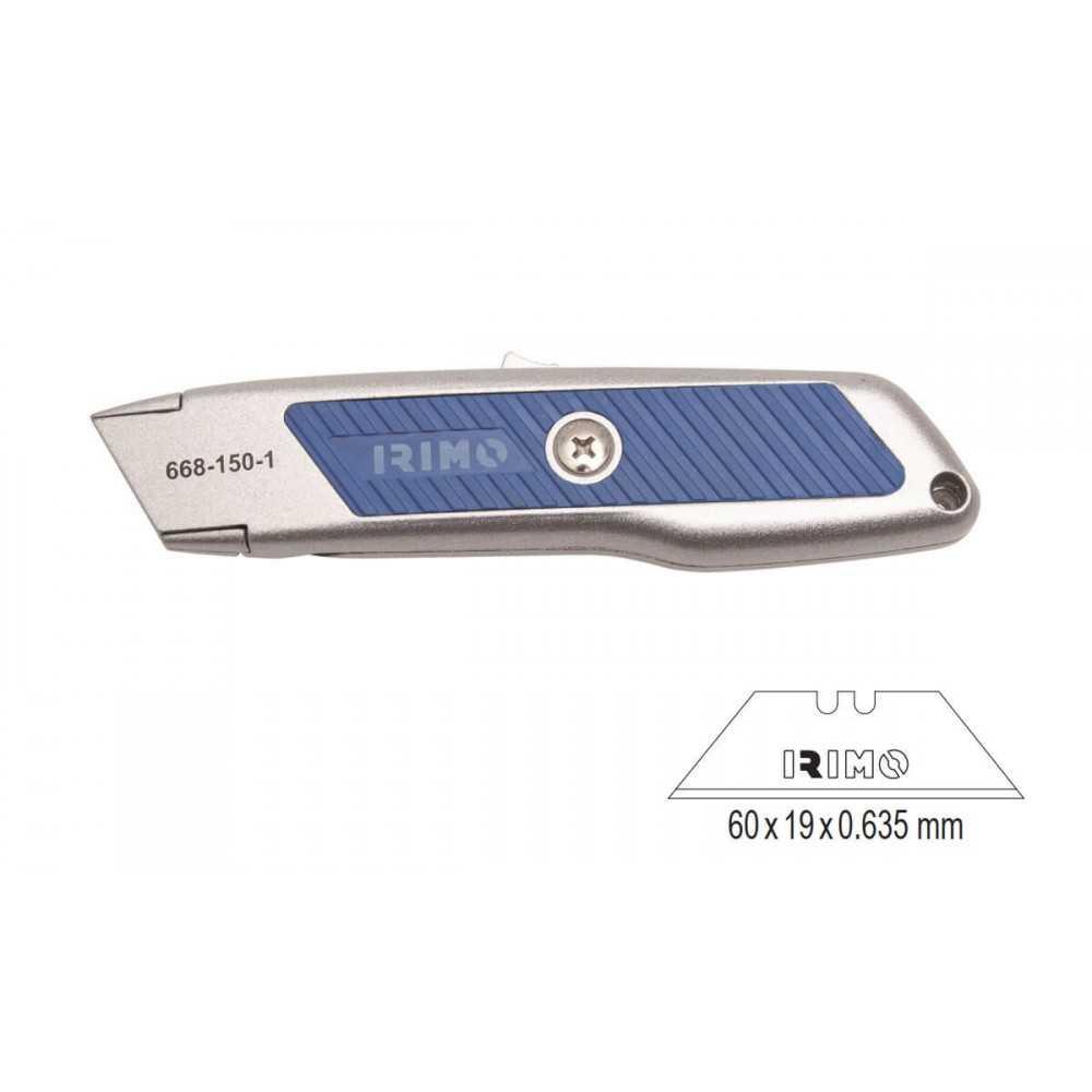 Cuchillo Cartonero Autorretractil 18 mm Irimo 668-150-1