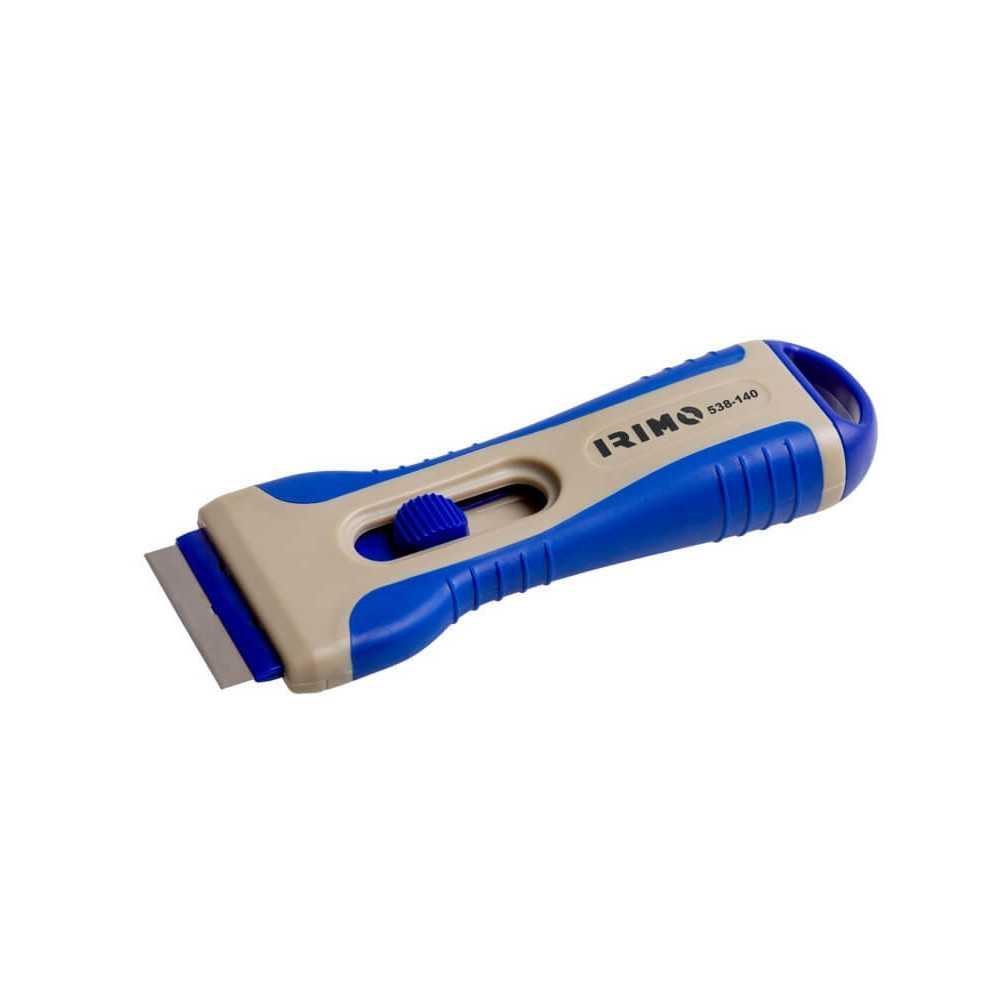 Rasqueta - Raspador para Vidrios Con Cuchillas Intercambiables Irimo 538-140-1