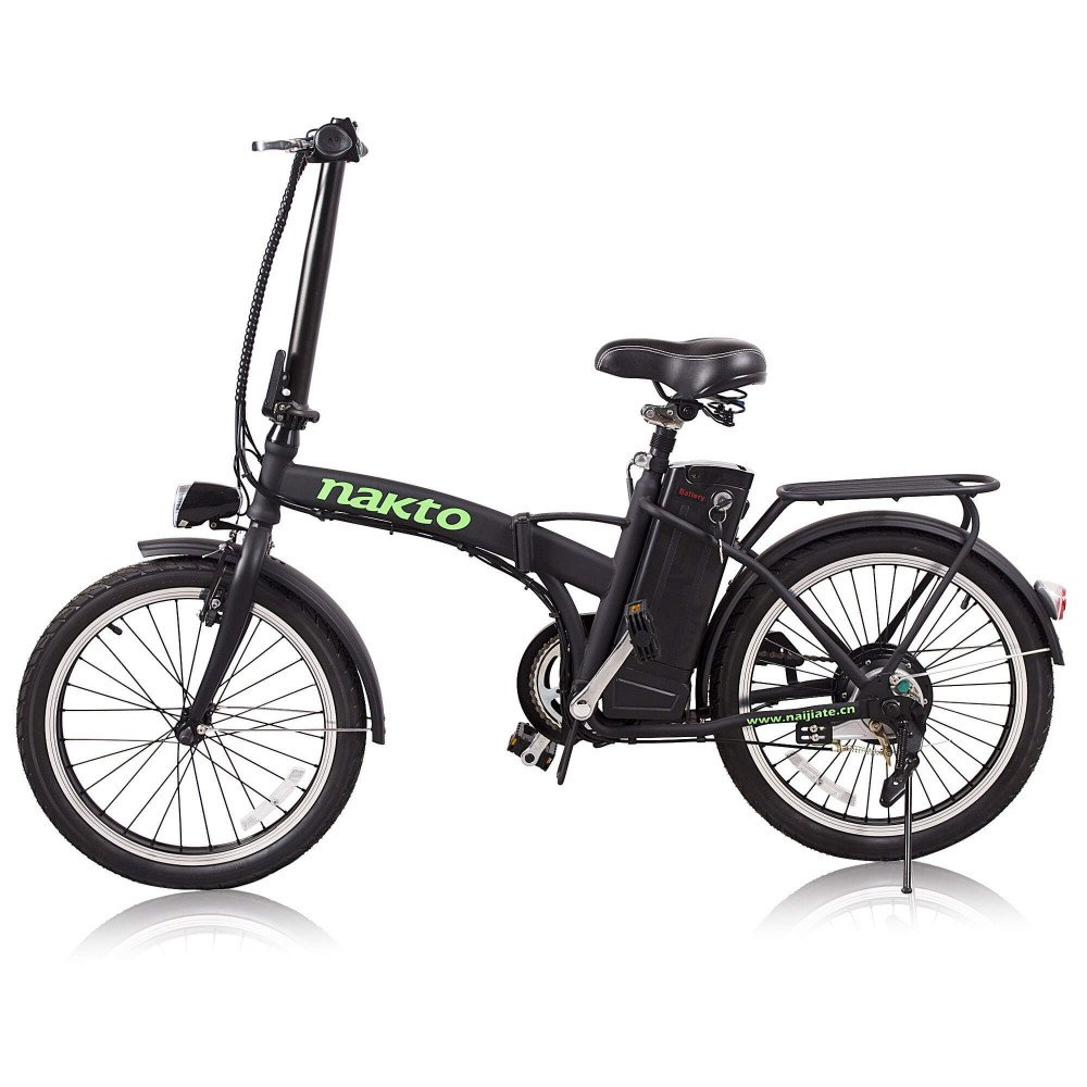 "Bicicleta Eléctrica Fashion Plegable 20"" Nakto 1216000000020"