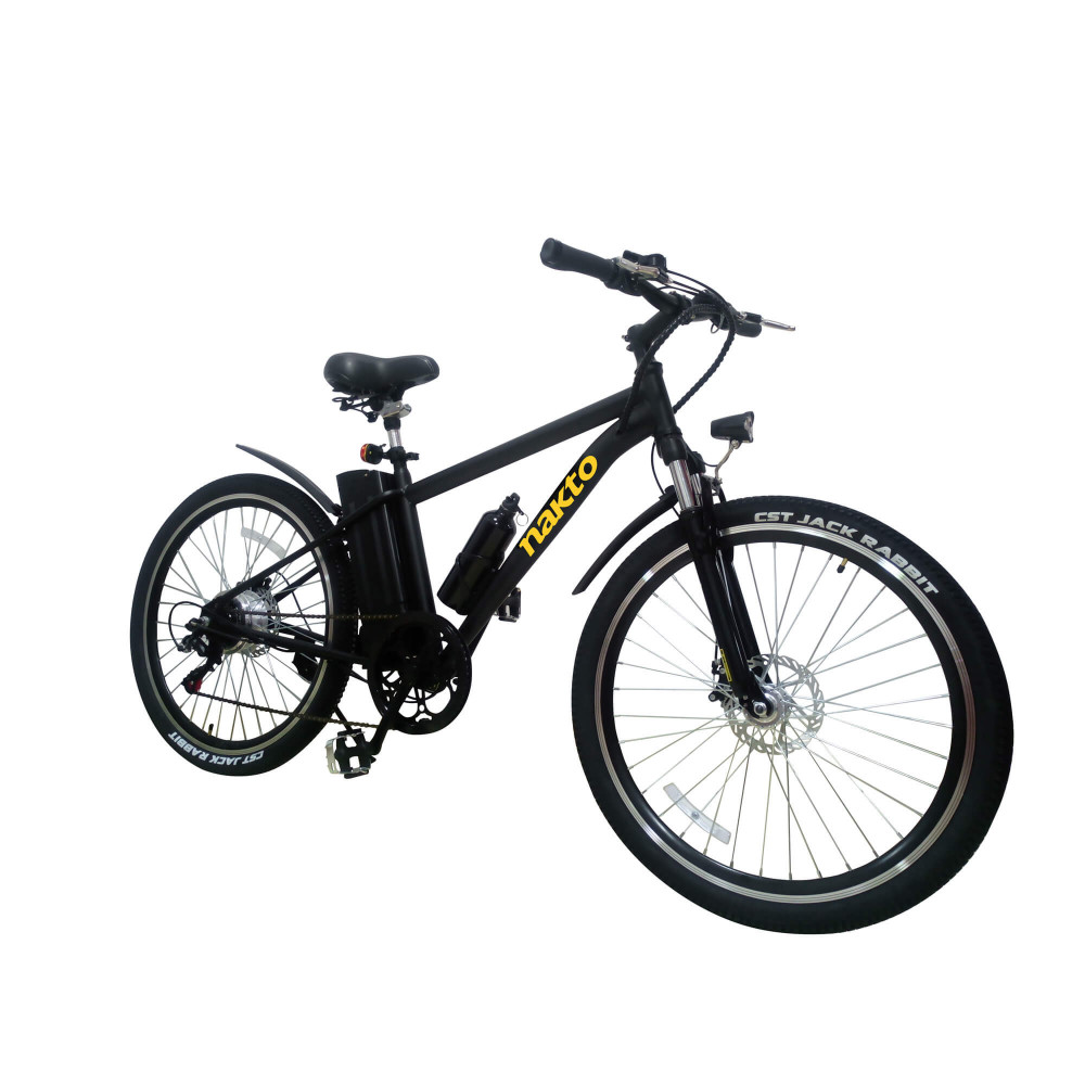 """Bicicleta Eléctrica Todo Terreno Leopard Rígida 26"""" Nakto 1216000000026"""