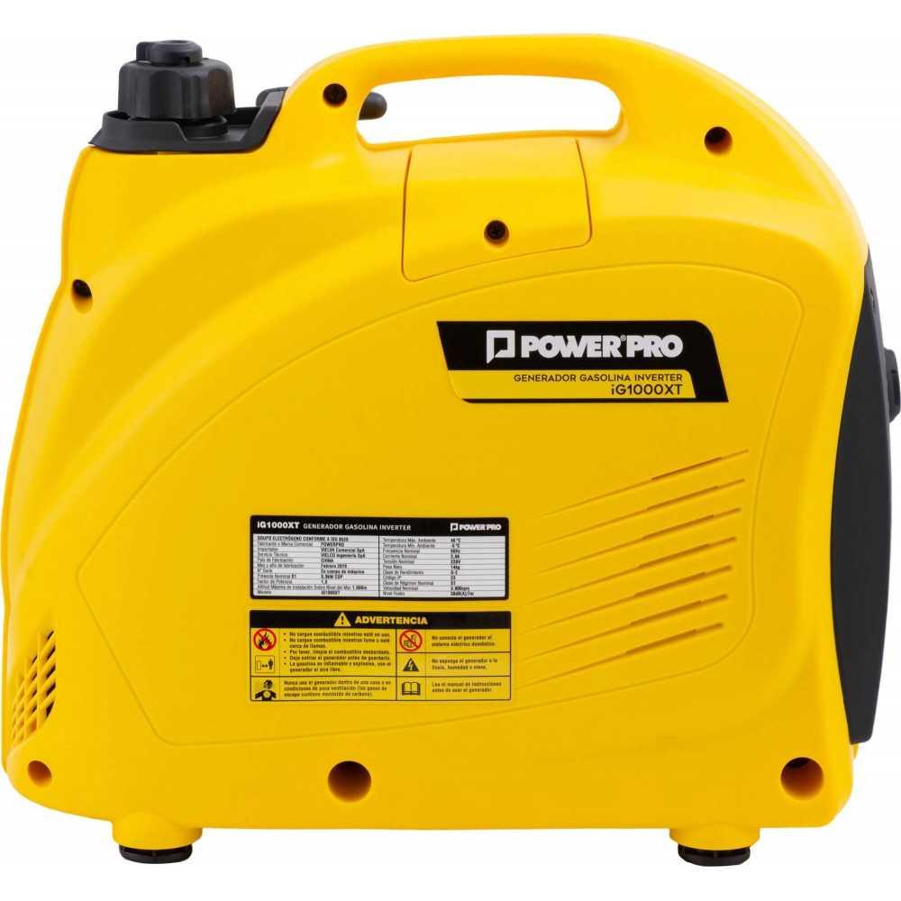 Generador Eléctrico Digital Inverter 1.0 KVAIG1000XT Power Pro 103011574