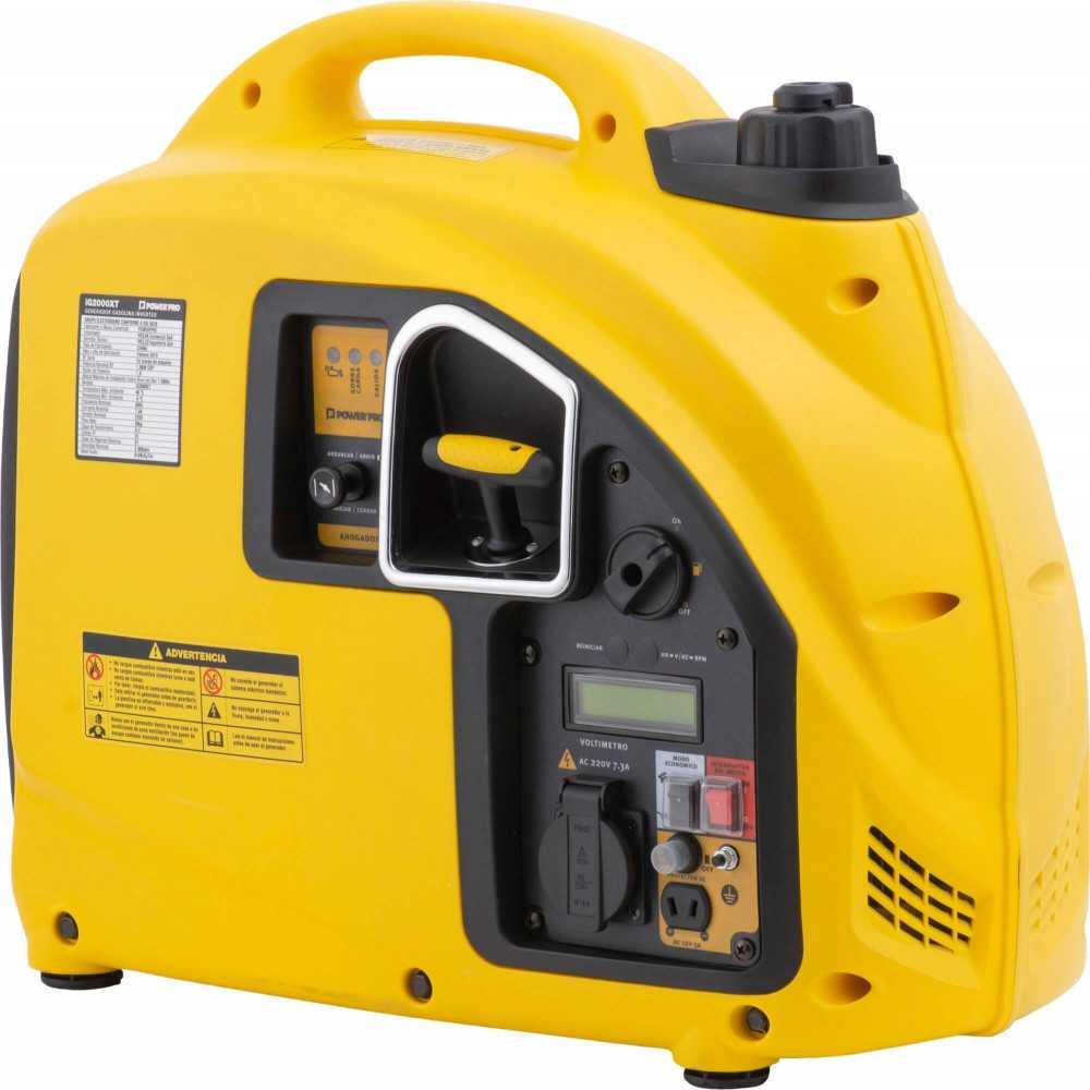 Generador Eléctrico Digital Inverter 2.0 KVA IG2000XT Power Pro 103011575