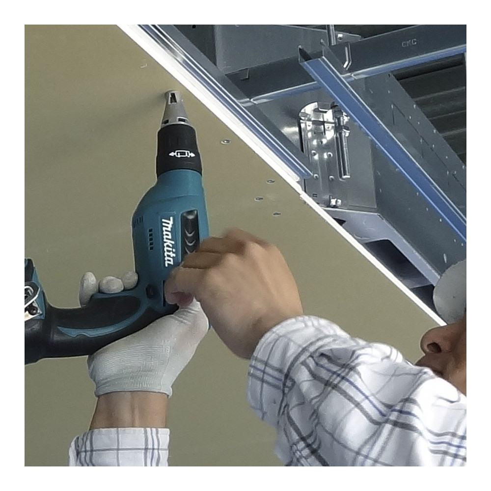 "Atornillador 1/4"" Hexagonal 0-4000 rpm - Drywall 1,5 kg Makita DFS451RFE"