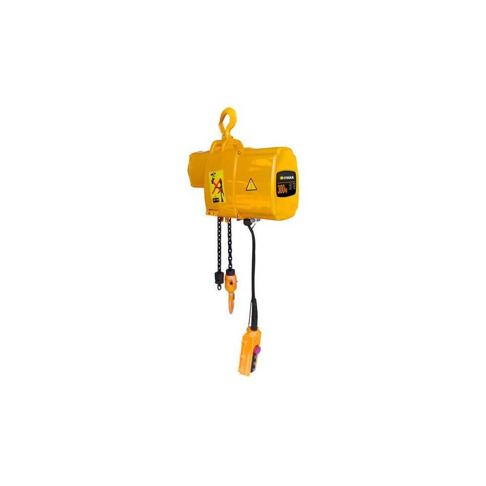 Tecle Eléctrico 0.5T 6M Industrial 220V EHC0.5 Itaka 181010