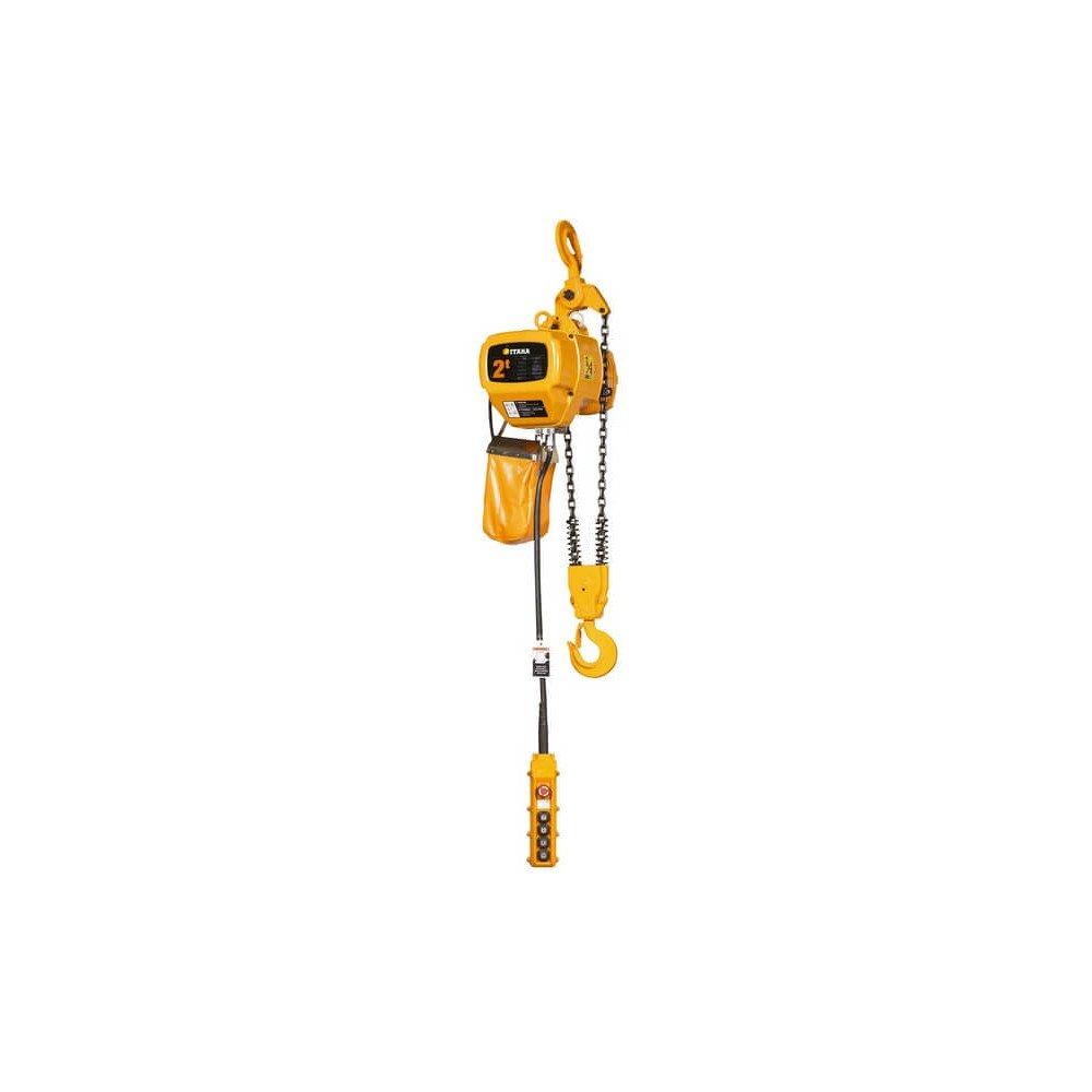 Tecle Eléctrico 2T 6M Industrial 220V EHC02 Itaka 181012