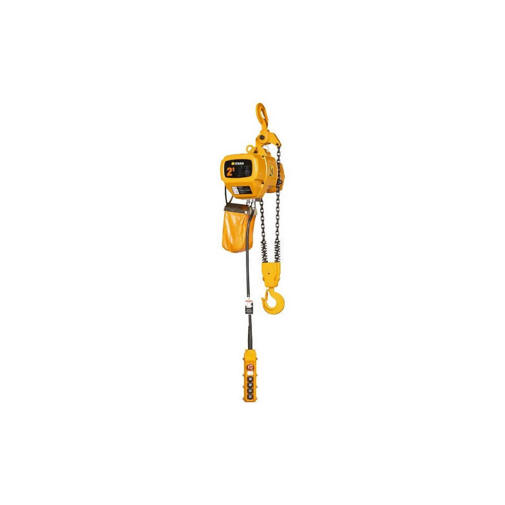 Tecle Eléctrico 2T 6M Industrial 380V HBD02-01 Itaka 181013