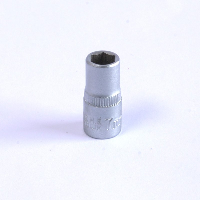 "Dado Hexagonal 7 MM Cuadrante 1/4"" Endure DHE147"