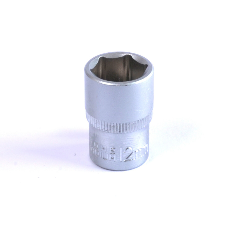 "Dado Hexagonal 12 MM Cuadrante 1/4"" Endure DHE1412"