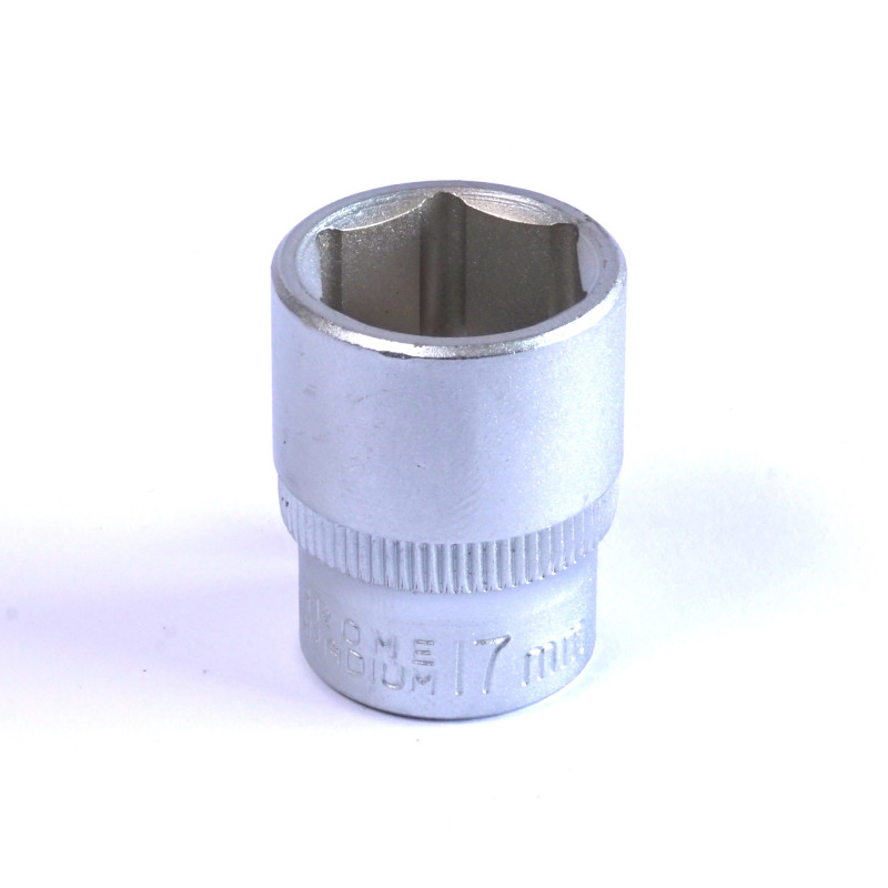 "Dado Hexagonal 17 MM Cuadrante 3/8"" Endure DHE3817"