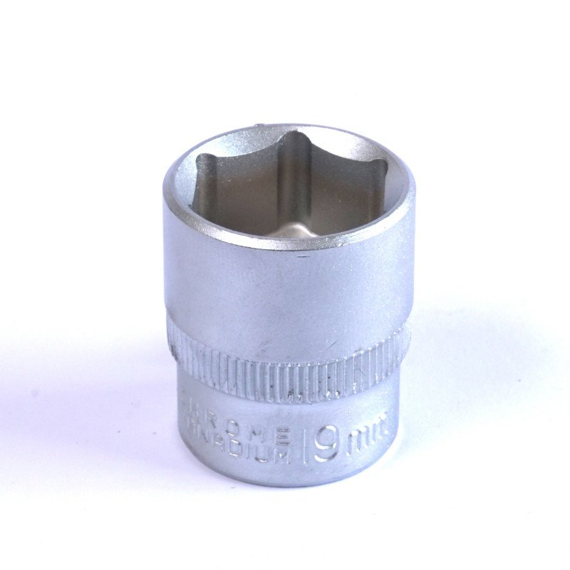 "Dado Hexagonal 19 MM Cuadrante 3/8"" Endure DHE3819"