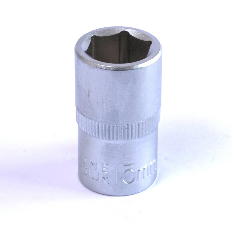 "Dado Hexagonal 15 MM Cuadrante 1/2"" Endure DHE1215"