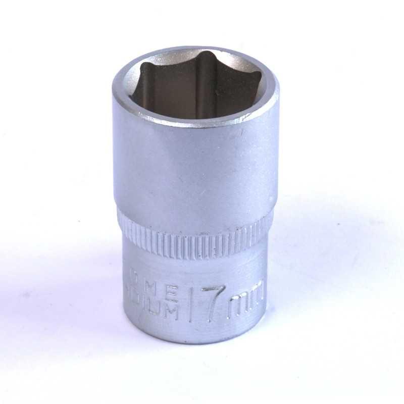 """Dado Hexagonal 17 MM Cuadrante 1/2"""" Endure DHE1217"""