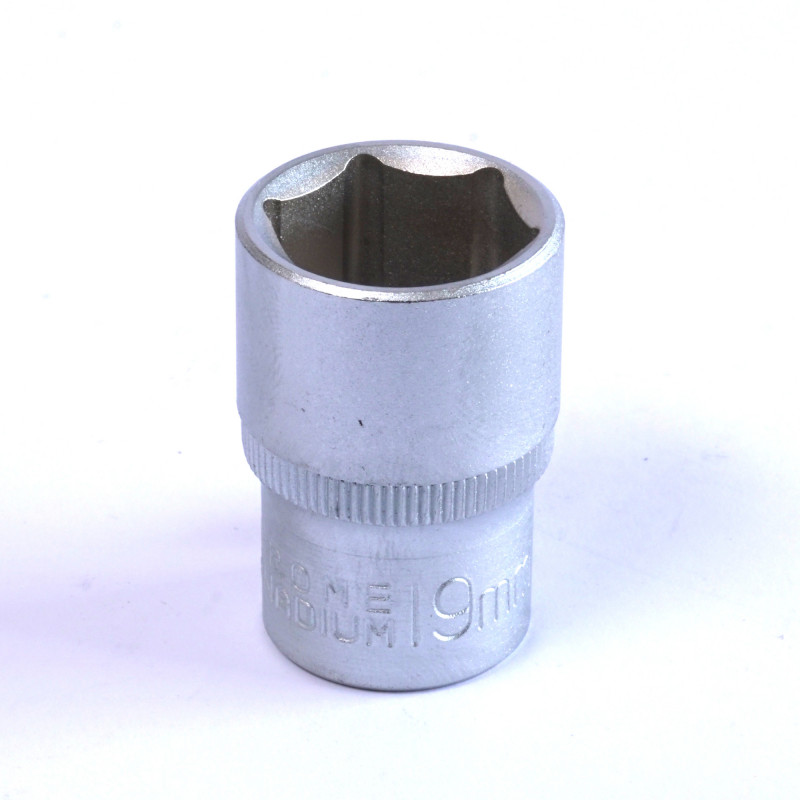 "Dado Hexagonal 19 MM Cuadrante 1/2"" Endure DHE1219"