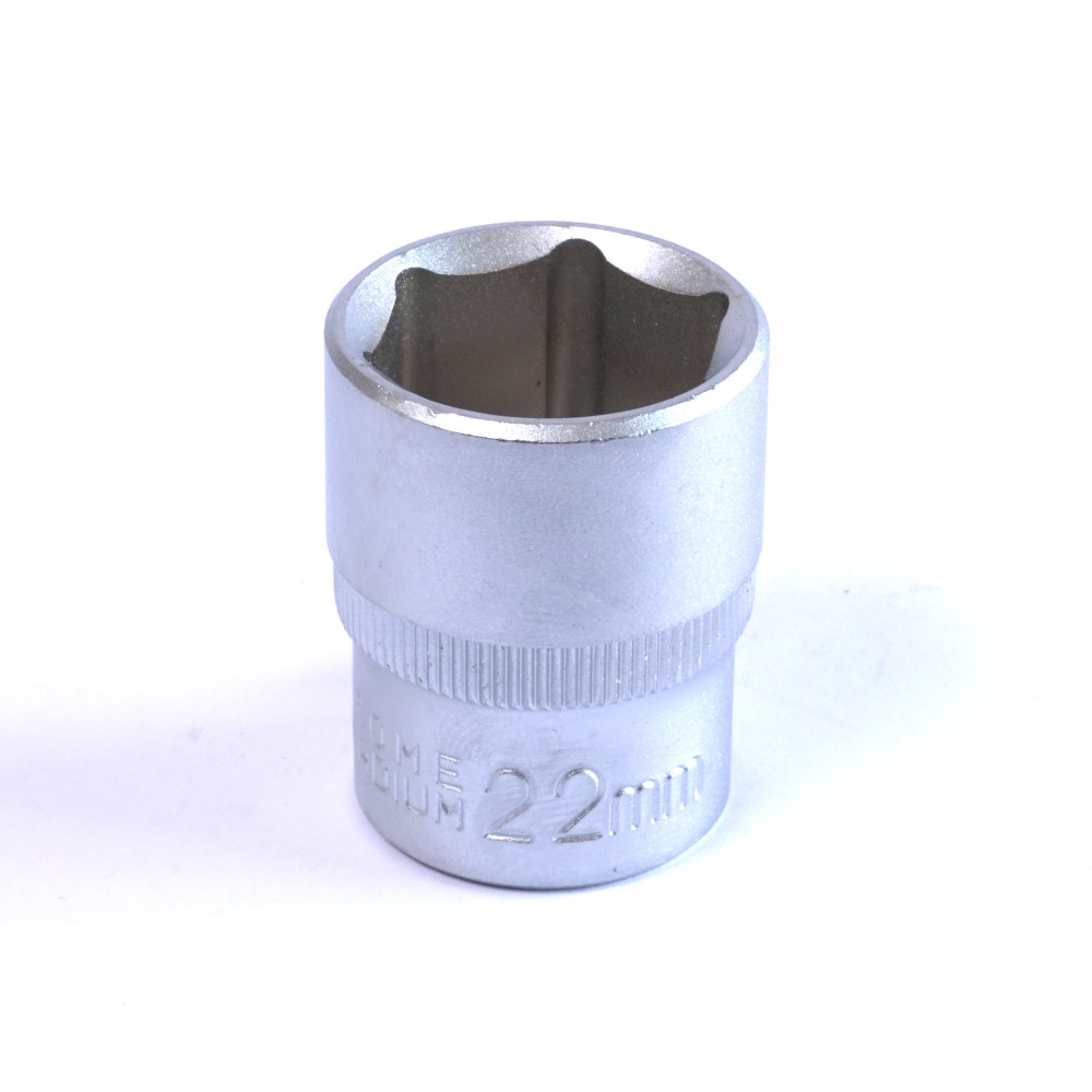 "Dado Hexagonal 22 MM Cuadrante 1/2"" Endure DHE1222"