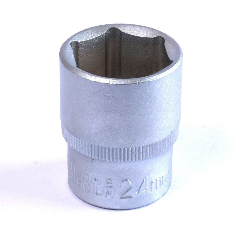 "Dado Hexagonal 24 MM Cuadrante 1/2"" Endure DHE1224"