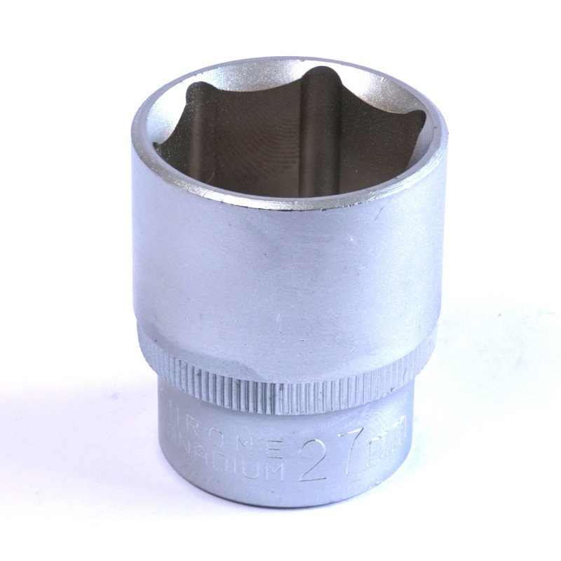 "Dado Hexagonal 27 MM Cuadrante 1/2"" Endure DHE1227"