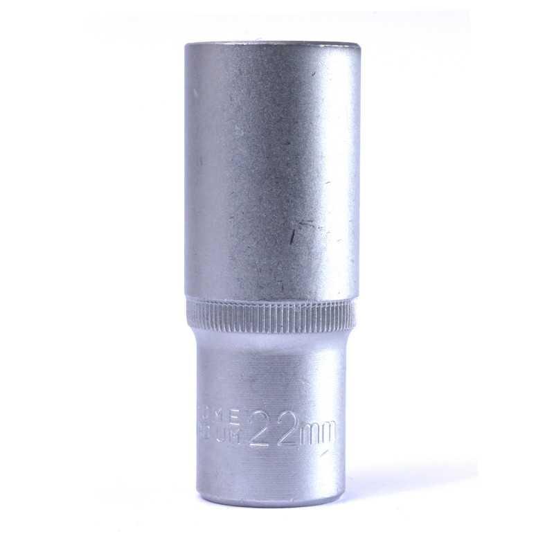 "Dado Hexagonal Largo 22 MM Cuadrante 1/2"" Endure DHLE1222"