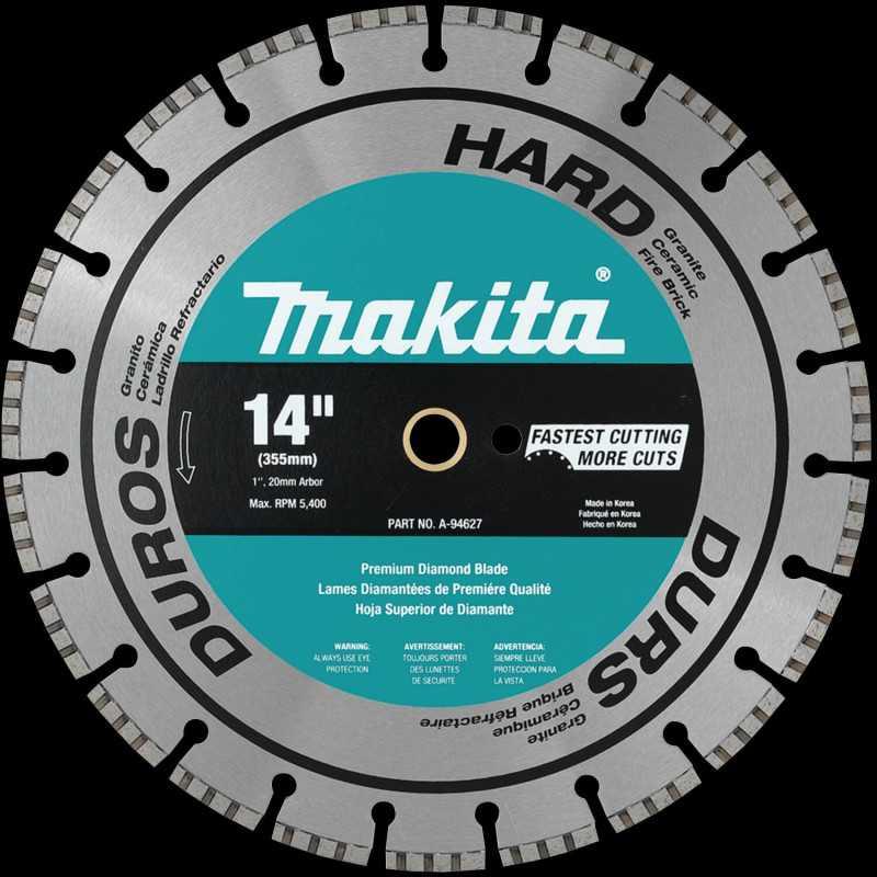 """Disco Diamantado 14"""" (355 mm) Makita A-94627"""