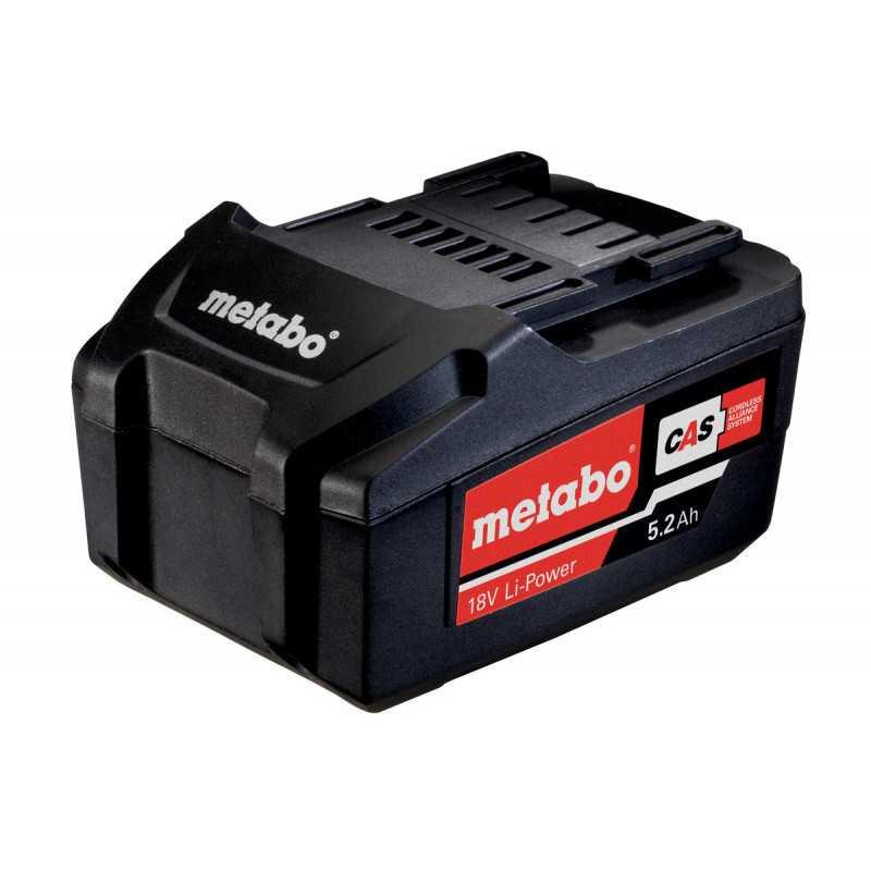 Batería 18V 5.2 Ah Metabo 625592000
