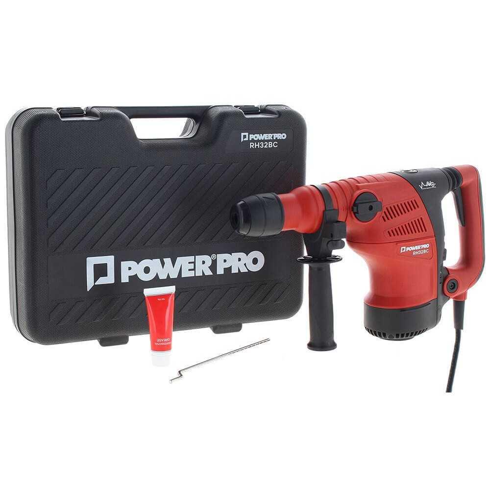 Rotomartillo SDS-PLUS 1050 W RH-032BC Power Pro 103011199