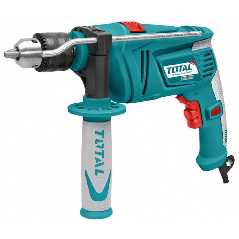 Taladro Percutor 13mm 850W Total Tools TG109136