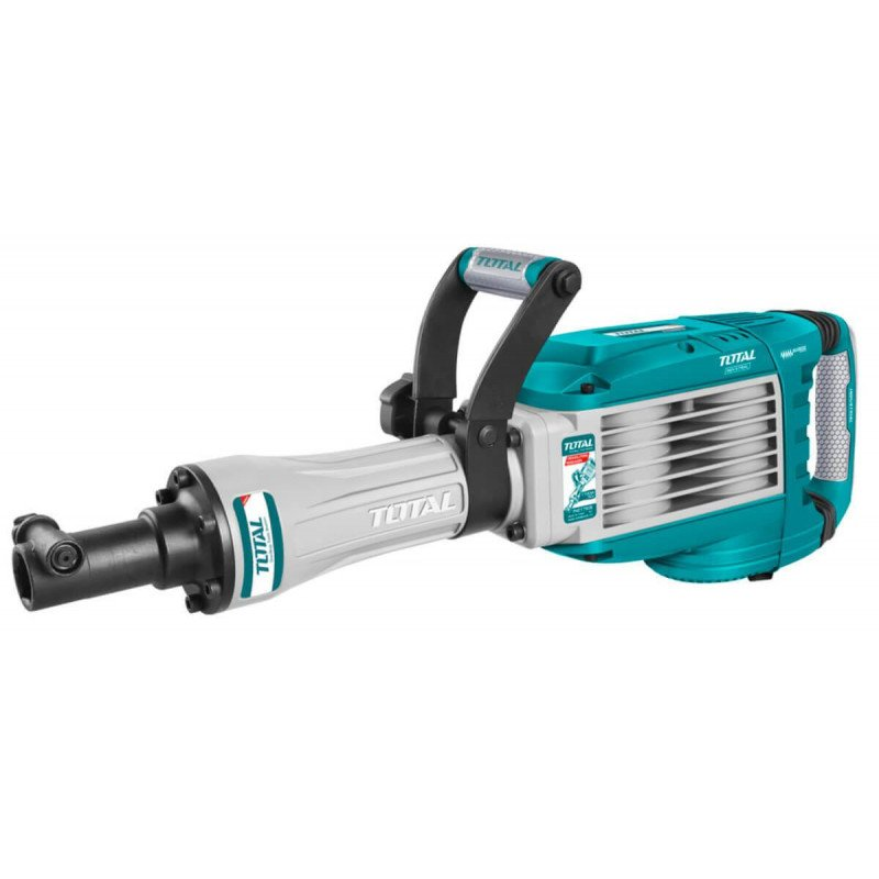 Demoledor Demoledor 1700W 50J + 2 Cinceles Total Tools TH217506
