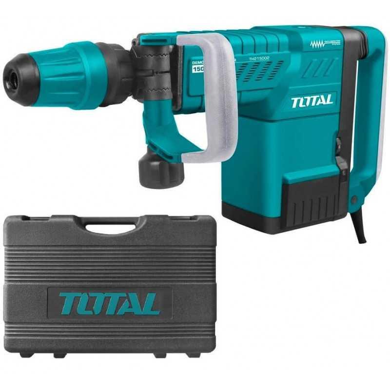 Demoledor SDS-MAX 1500W + 2 Cinceles Total Tools TH215002